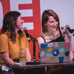 The Verge's Ashley Carman and Kaitlyn Tiffany recorded a special episode of Why'd You Push That Button live from The Deep End where they chatted about ghosting!