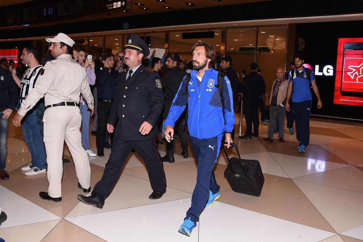 Italy Travels To Baku