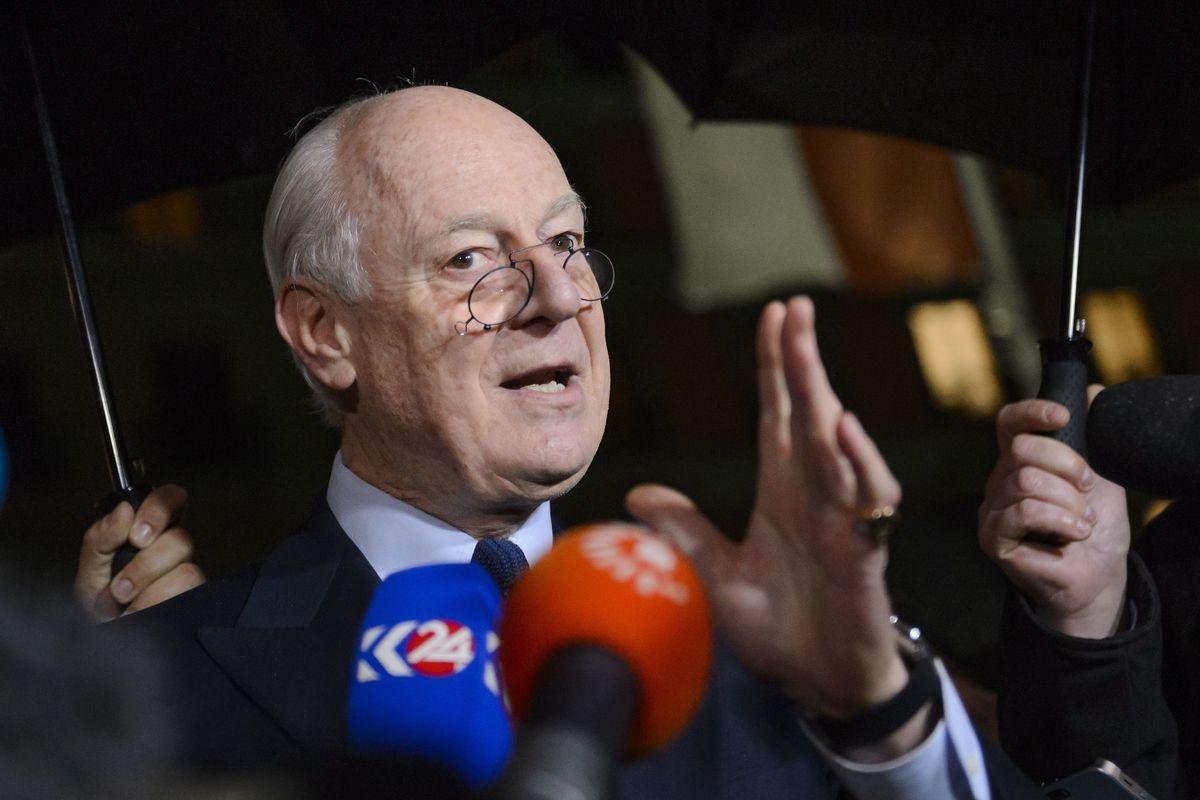 The 3 Problems That Doomed Syria Peace Talks Vox Meccanism Long Syiria Un Envoy Staffan De Mistura Announces Three Week Pause In Fabrice Coffrini Afp Getty