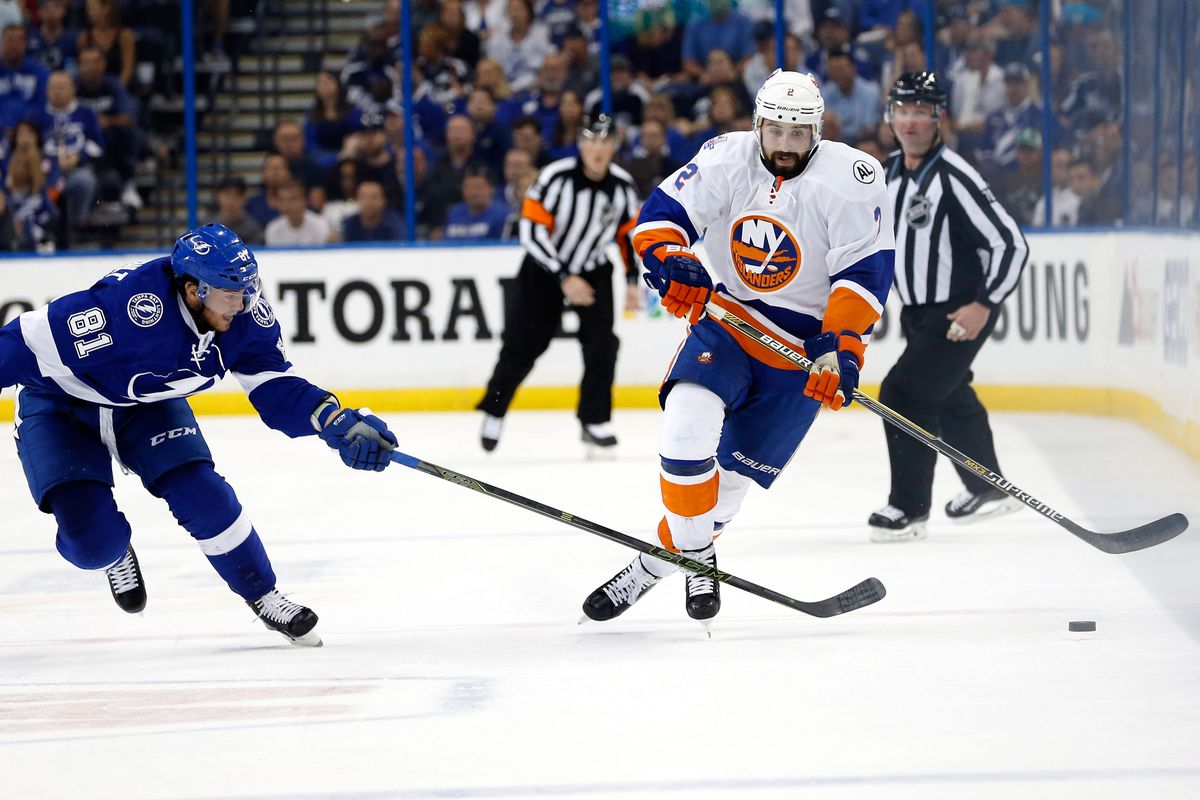 Nick Leddy is taking a HUGE role in the neutral zone this year.