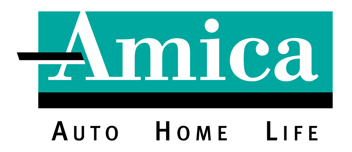 amica logo with white space