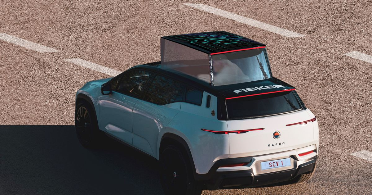 An electric popemobile is Fisker's latest leap of faith