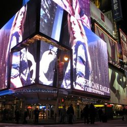 Come hither in Times Square.
