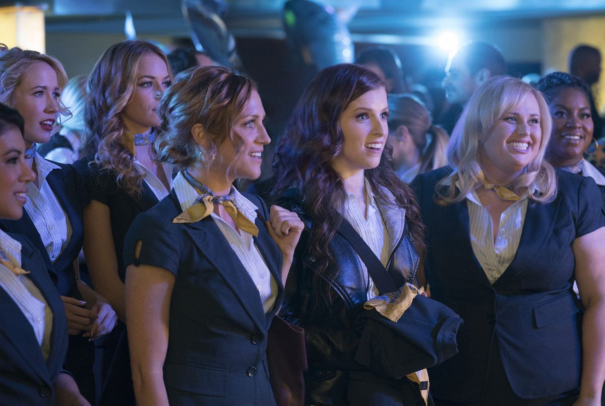 Anna Kendrick,Brittany Snow,Rebel Wilson,and Anna Camp in Pitch Perfect 3