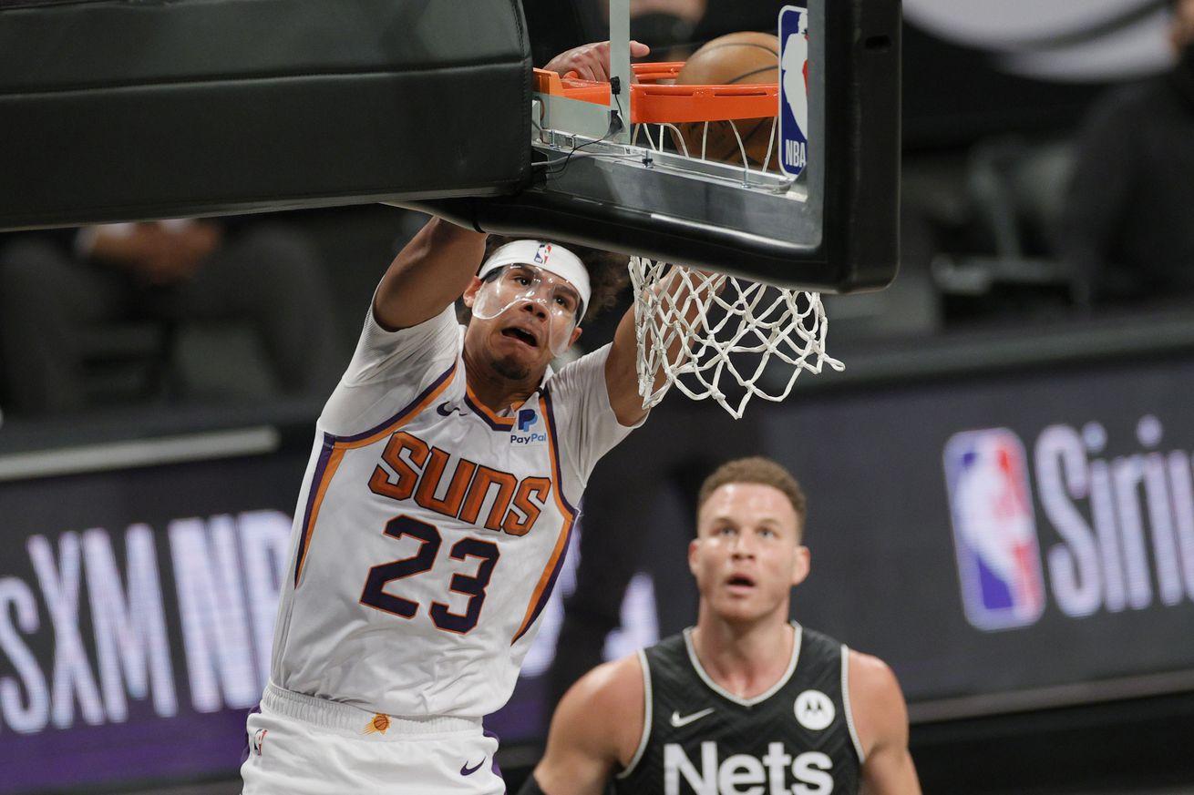 Phoenix Suns v Brooklyn Nets