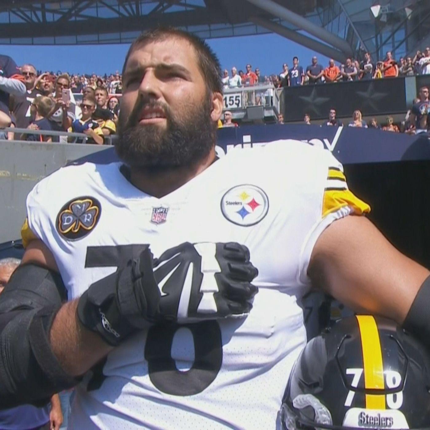 new style d5989 aeedf Alejandro Villanueva has the Steelers' No. 1-selling jersey ...
