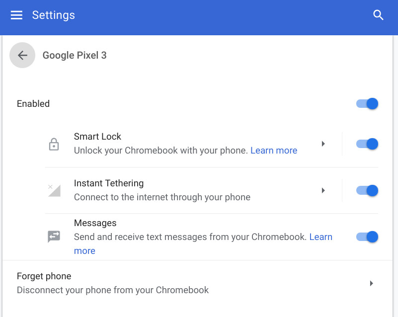 Chromebook Instant Tethering expands beyond Google devices