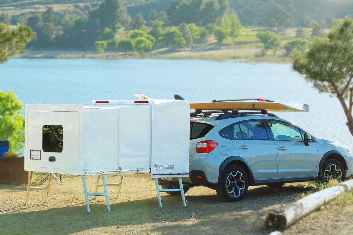 Tiny Expandable Camper Costs Just 4 500 Curbed