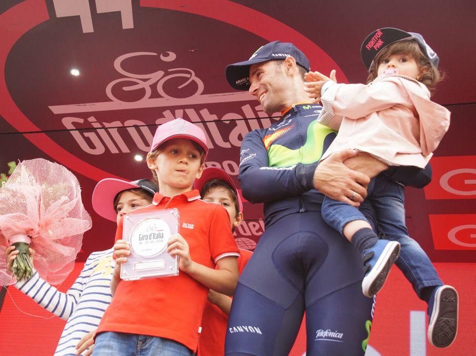 Valverde podium