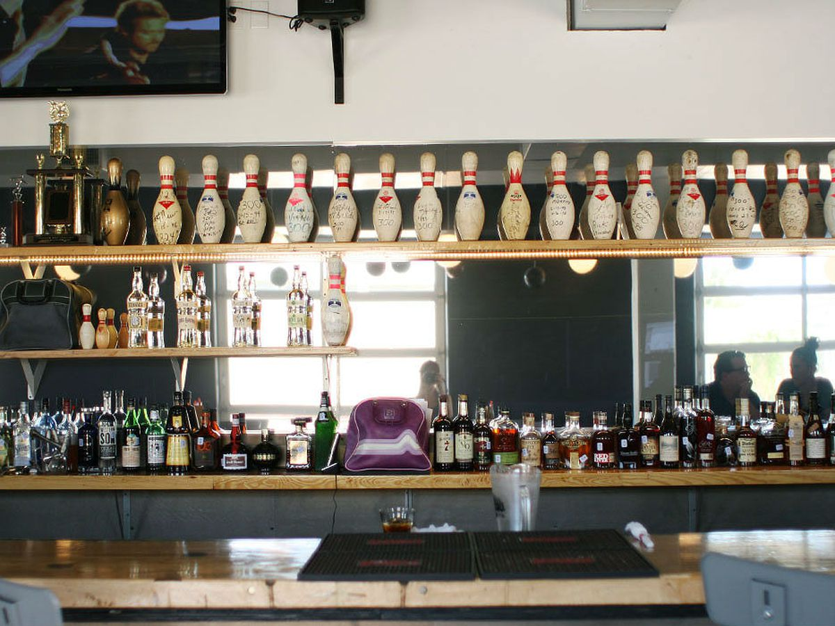 Recently opened Bowlounge is doing cocktails far better than you'd expect from a bowling alley.