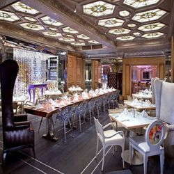 One can't think of iconic dining rooms in Miami without thinking of The Forge. Its over-the-top yet whimsical sophistication and elegance make it one of the most beautiful places to dine.