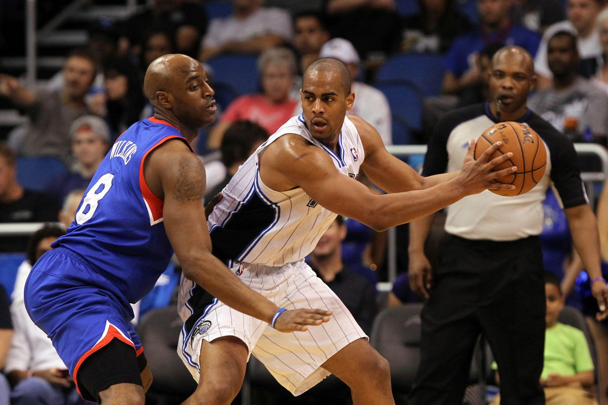 Damien Wilkins and Arron Afflalo