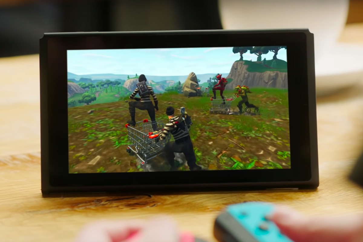 Fortnite On The Nintendo Switch Hands On Polygon