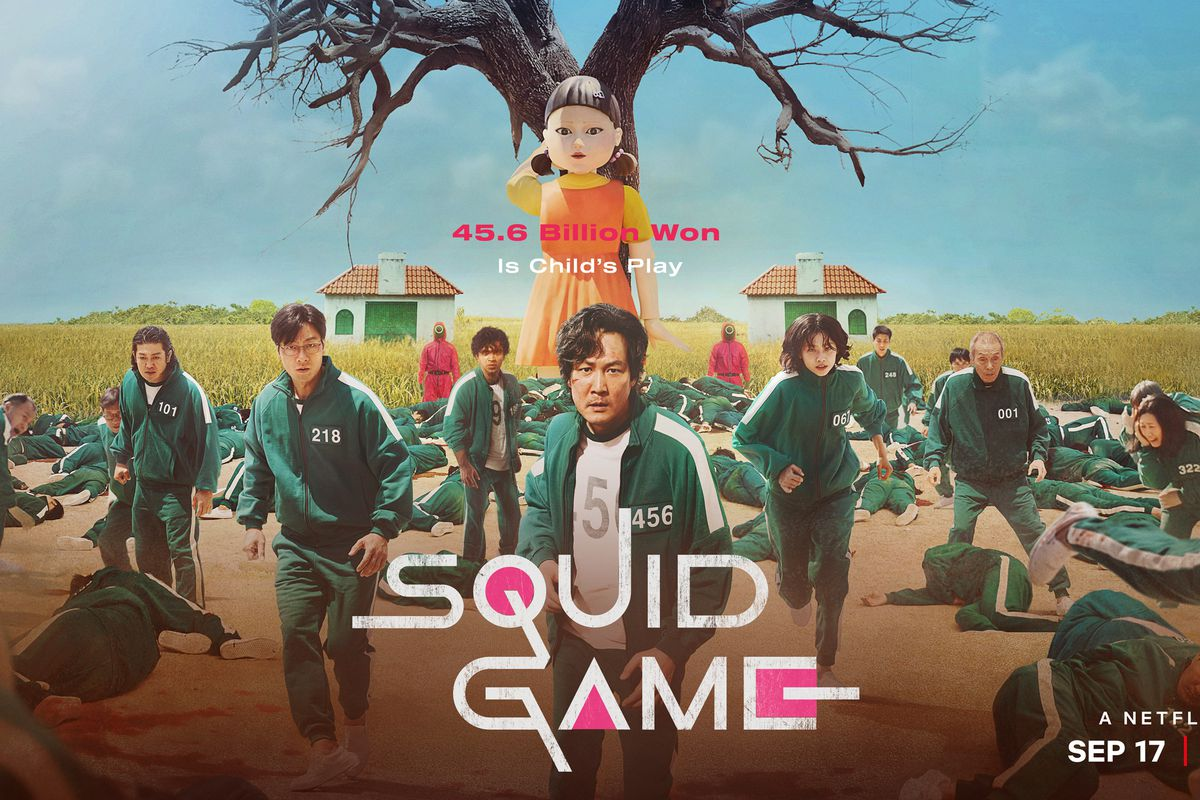 """""""Squid Game"""" is a new Netflix show."""