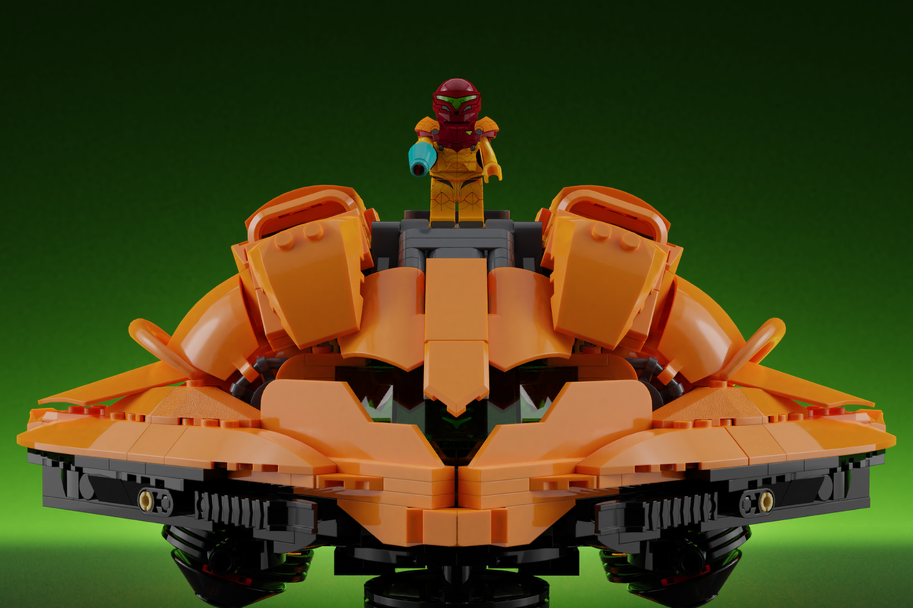 Metroid looks amazing in Lego — and could become real if you vote