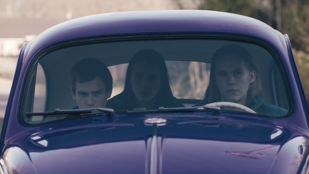 Freddie Burns, Ryan Peters, and Jason Lampanella True Detective Season 3