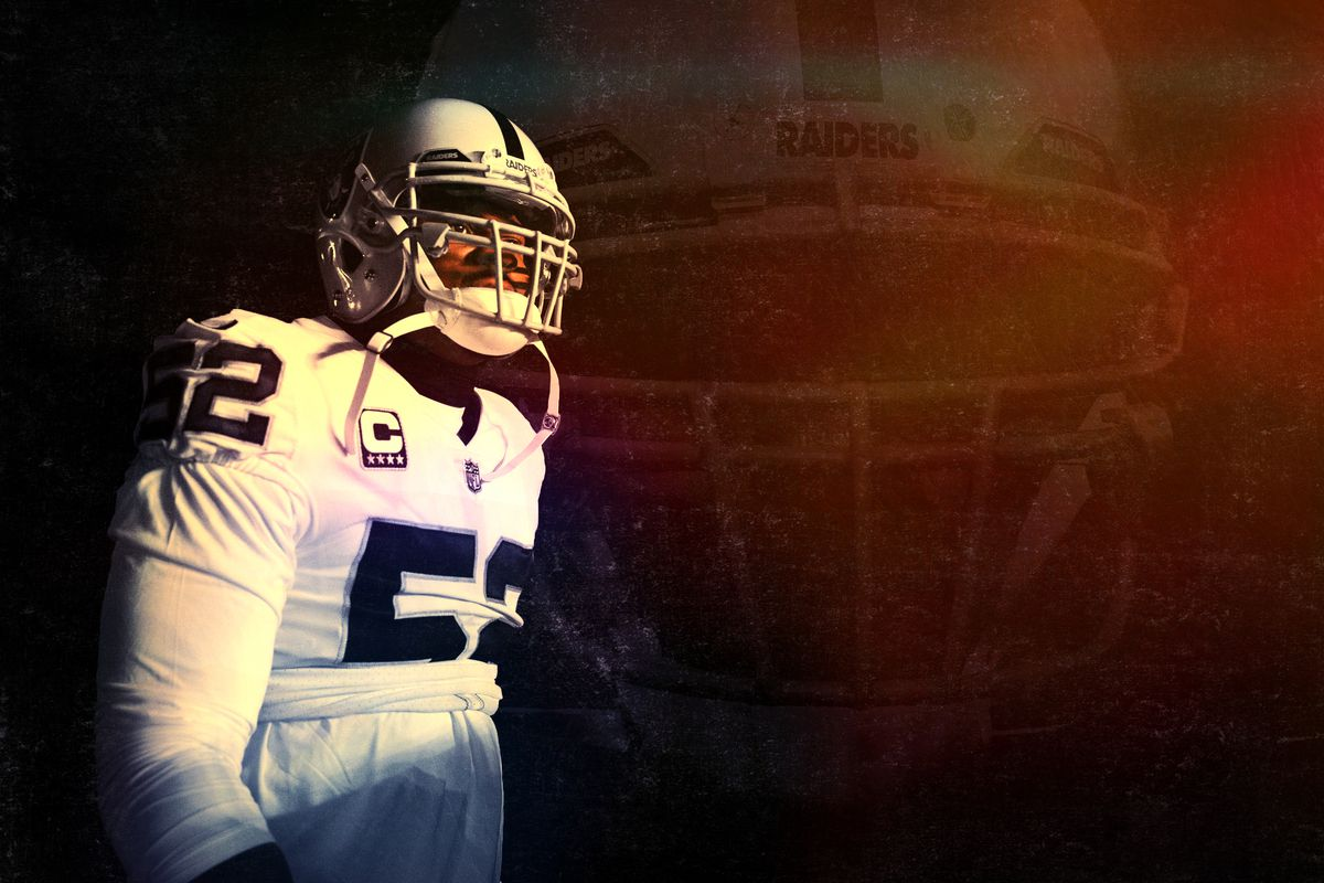 brand new 679d3 1a5f0 The Khalil Mack Situation Could Define the Raiders' Season ...