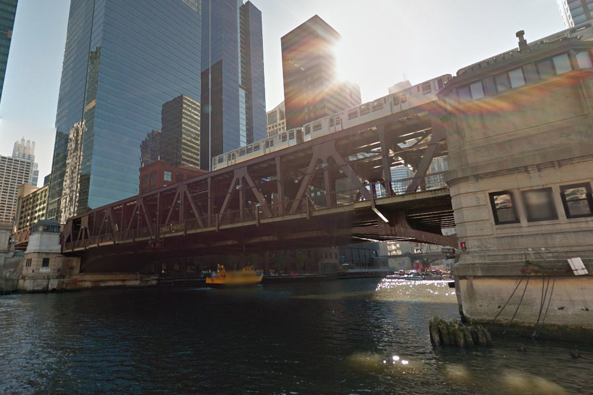 Train service on the CTA Green and Pink lines will be disrupted between the Clinton and Clark/Lake stations from Feb. 8-9, 2020, because of maintenance work on the Lake Street bridge over the Chicago River.