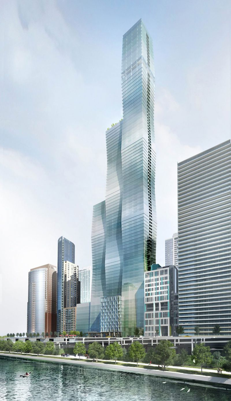 Chicago S Vista Tower Project Is For Sale Curbed Chicago