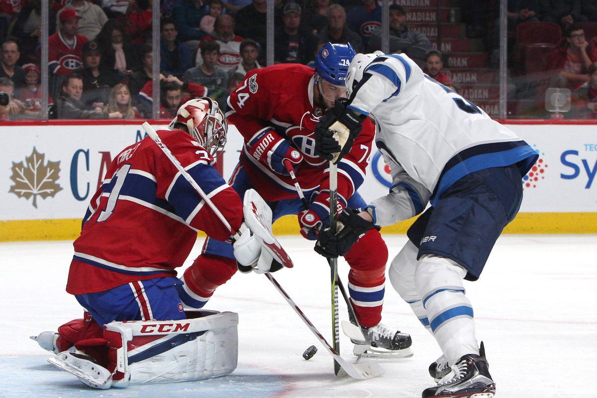 NHL: Winnipeg Jets at Montreal Canadiens