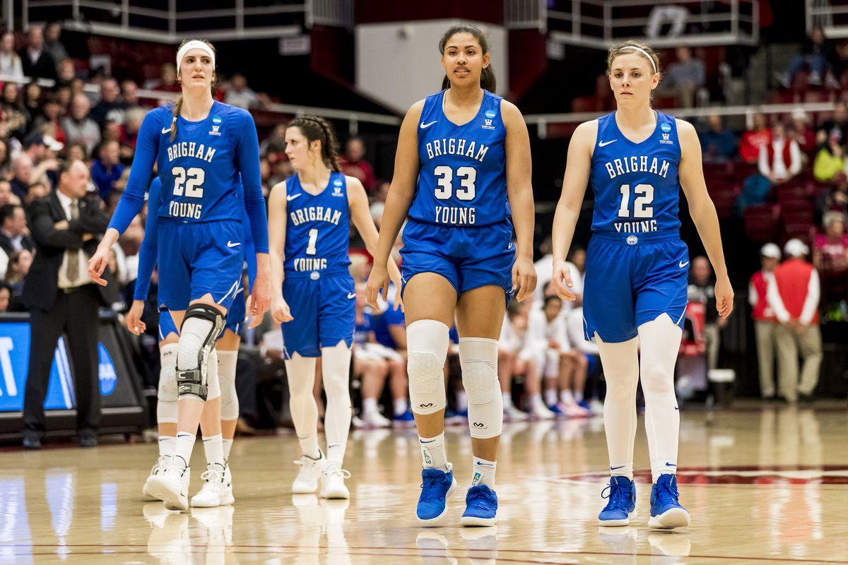 NCAA BASKETBALL: MAR 25 Div I Women's Championship - Second Round - Stanford v BYU