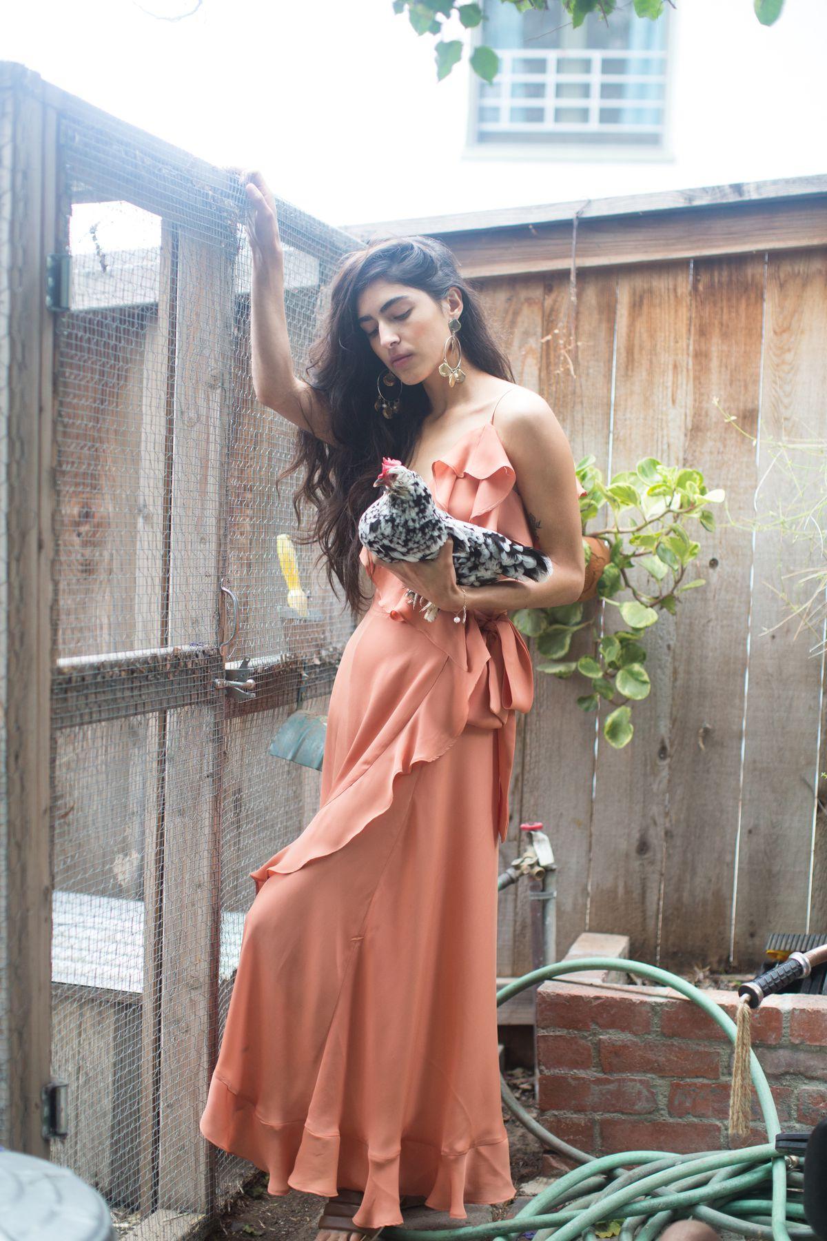 LA Tastemaker Beatrice Valenzuela Now Has a Lush, Feminine Clothing Collection