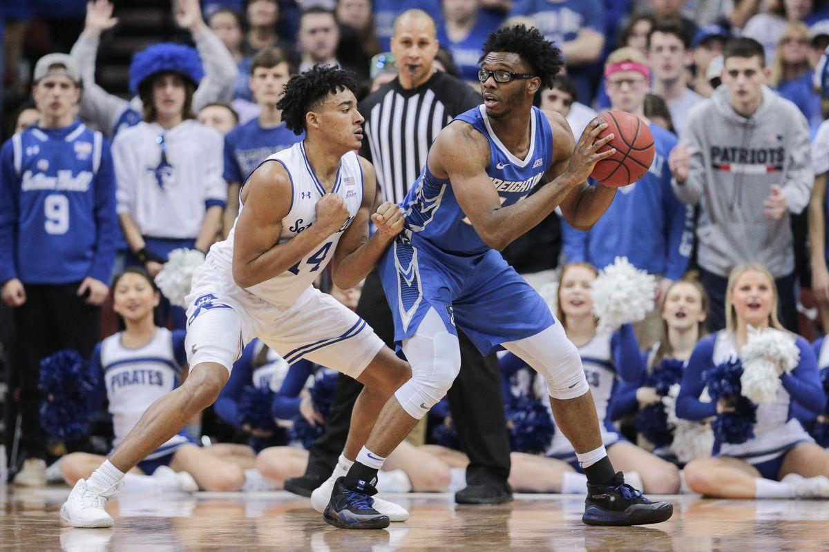NCAA Basketball: Creighton at Seton Hall