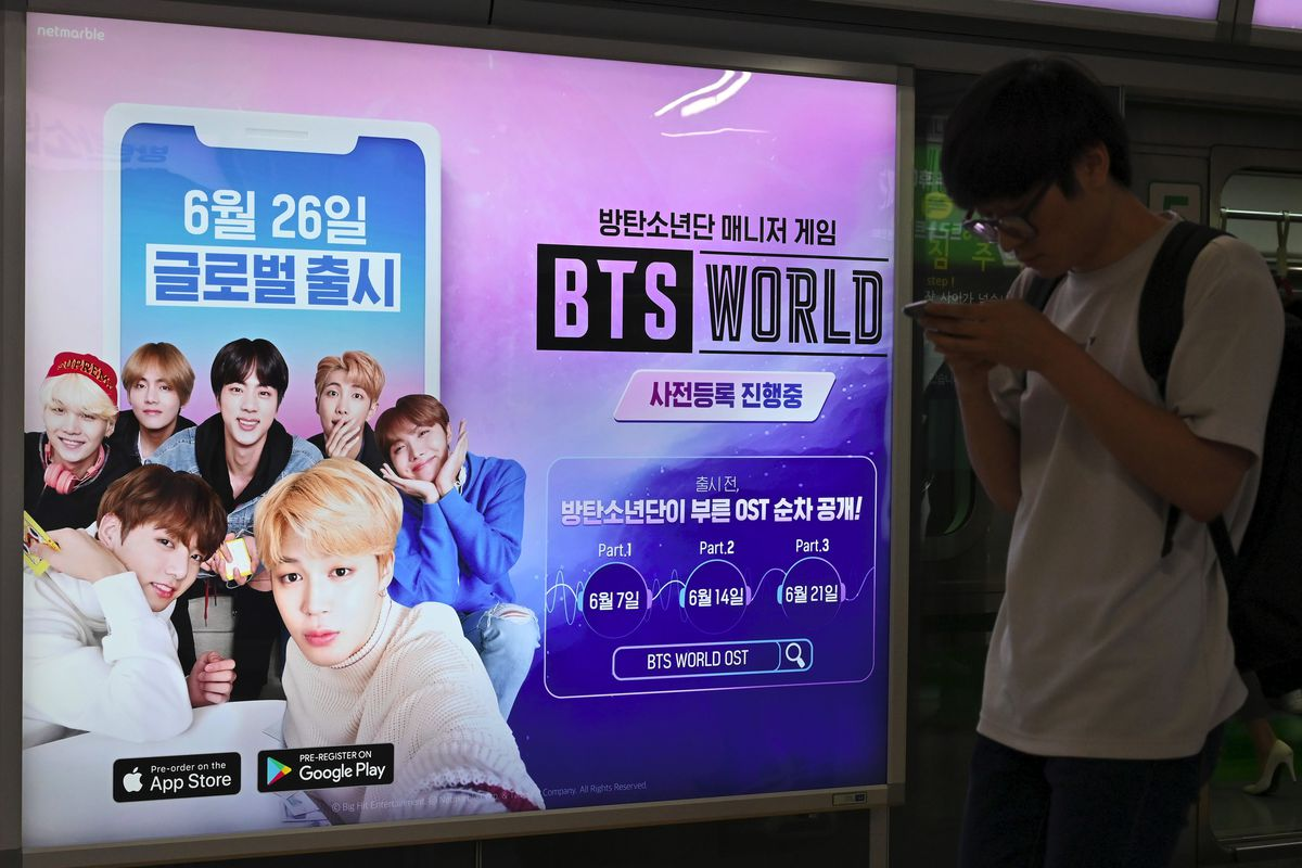 How the mobile game BTS World escalates K-pop's parasocial