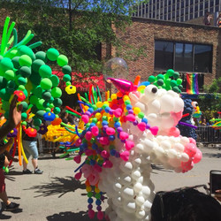 Thousands gathered in Lake View for Chicago's 49th annual Pride Parade on Sunday.   Sun-Times photo