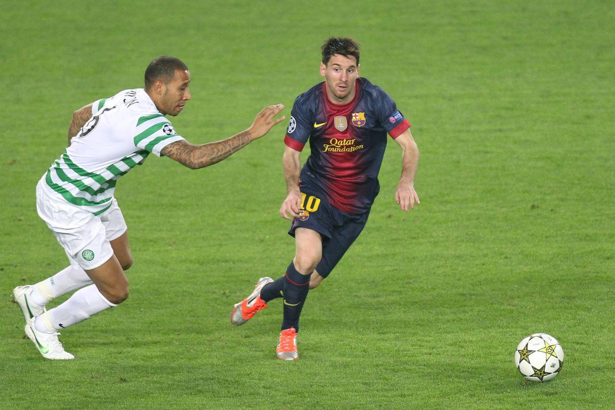 Soccer - UEFA Champions League - FC Barcelona vs Celtic FC