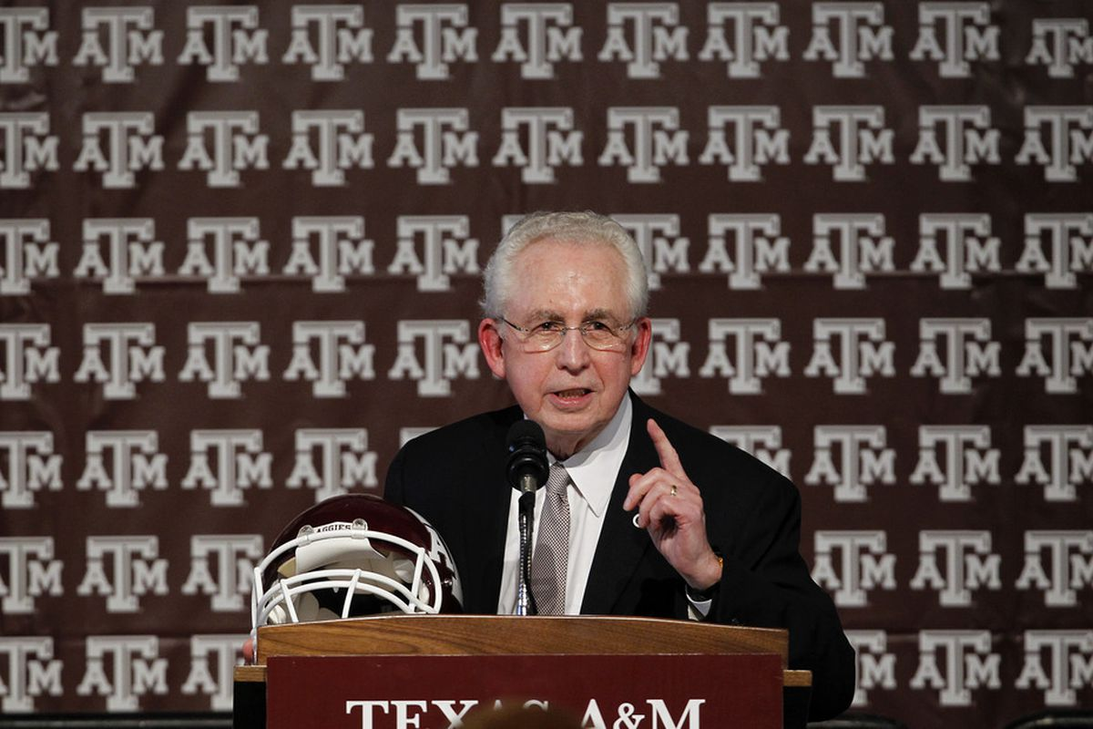SEC commissioner Mike Slive gets what he wants. (Photo by Aaron M. Sprecher/Getty Images)