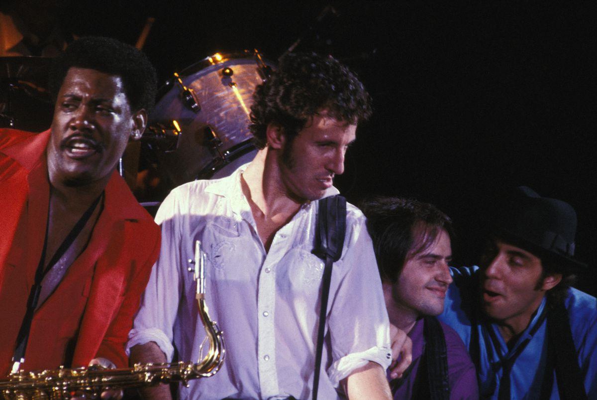 Bruce Springsteen en concert à Paris
