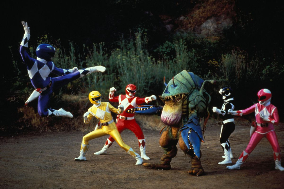 why power rangers is a one of a kind tv franchise vox
