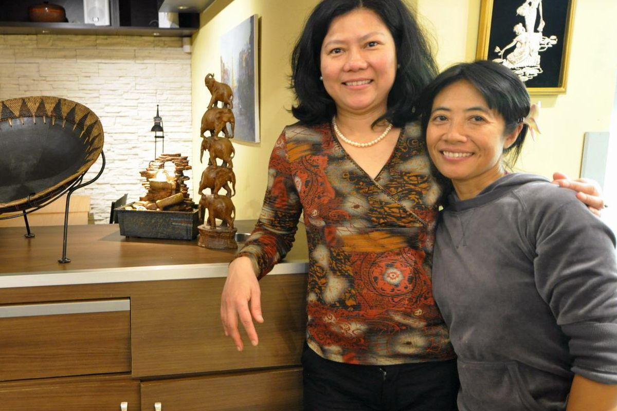 Ruby Burma owners Thet Thet Tun and Pri Lwan