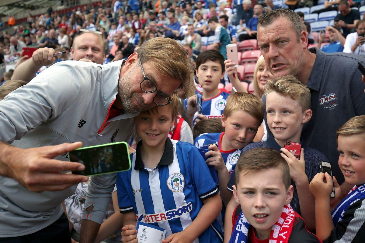 Wigan Athletic v Liverpool - Pre-Season Friendly