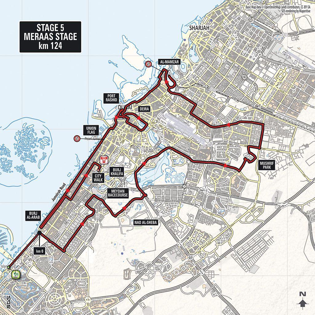 Police Unity Tour  Route