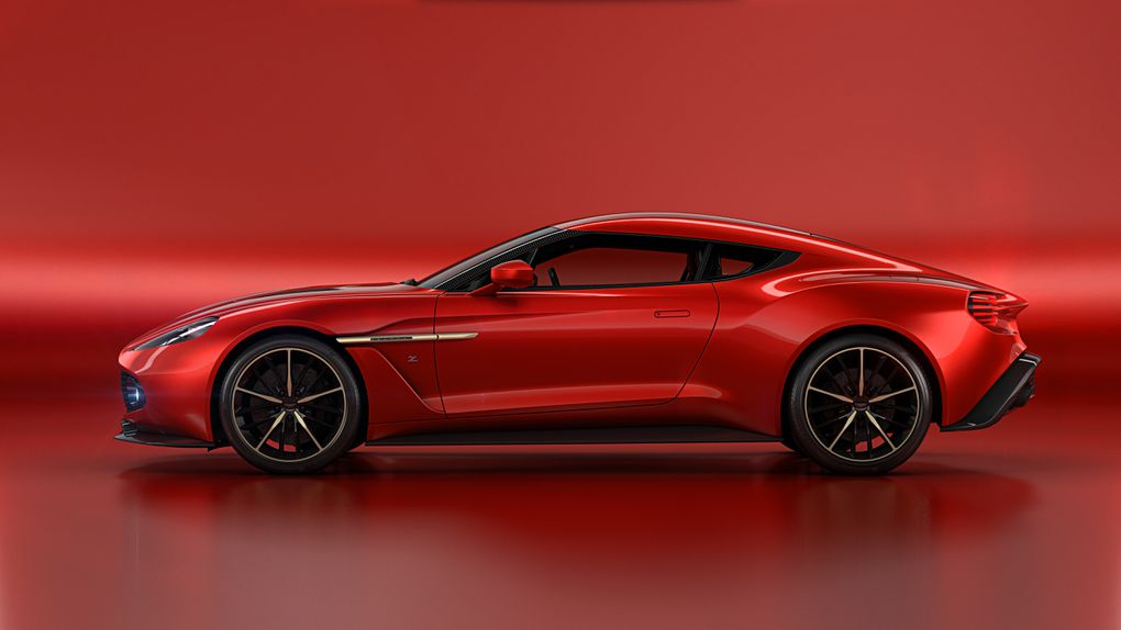 Aston Martins Most Beautiful Car In Years Is The Vanquish Zagato - Sports cars keys