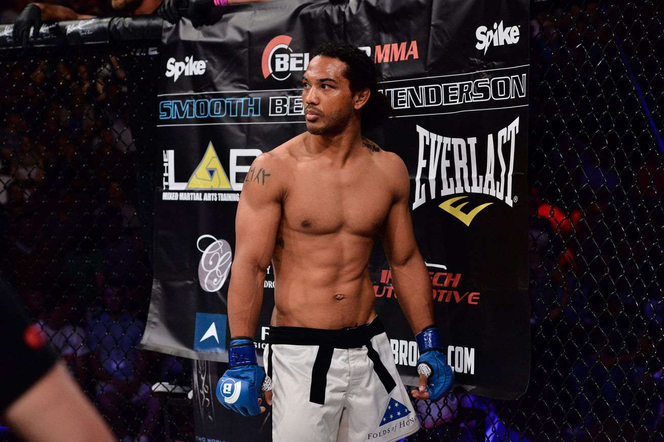 Benson Henderson returns against Saad Awad at Bellator 208