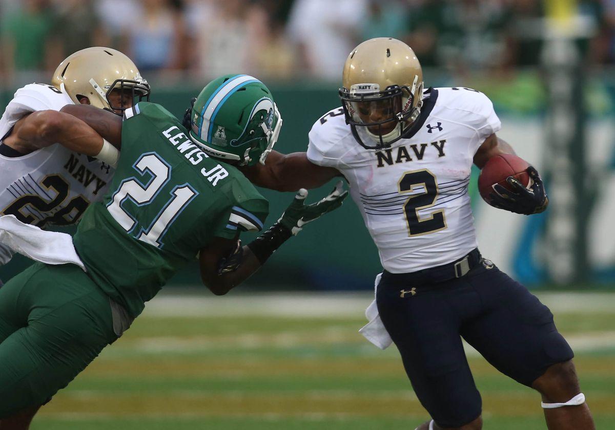 NCAA Football: Navy at Tulane