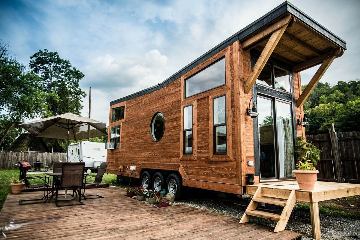 A Tiny House For In Cincinnati Ohio Try It