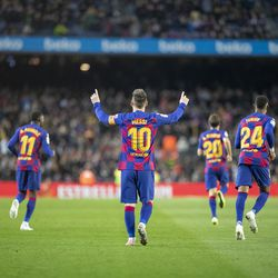 Another hat-trick for Messi against Celta