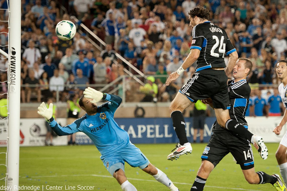 Gordon's game-winner a year ago saw the Quakes rally past the Galaxy at Stanford Stadium