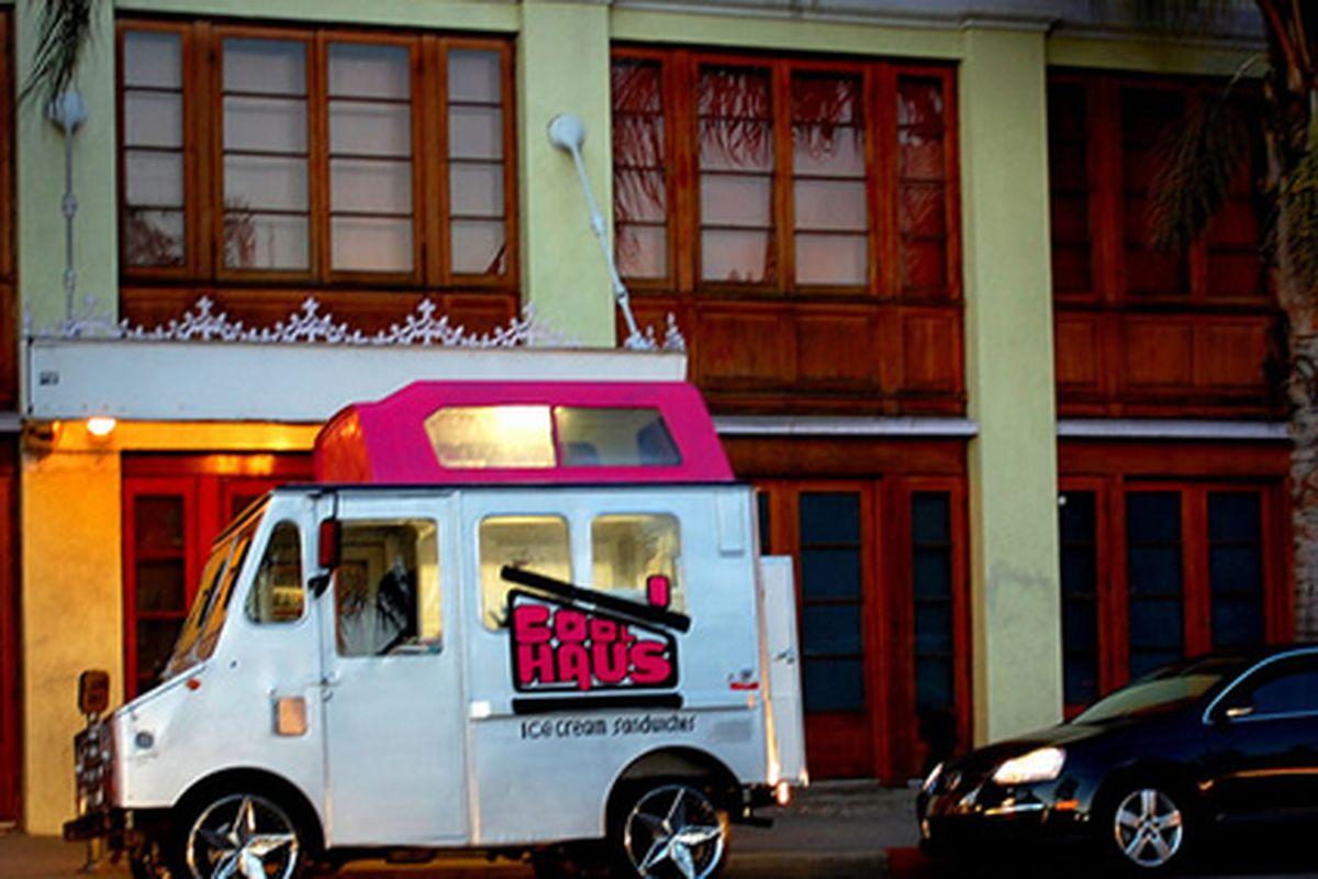 Cool Haus Ice Cream Truck, Hollywood, Ca