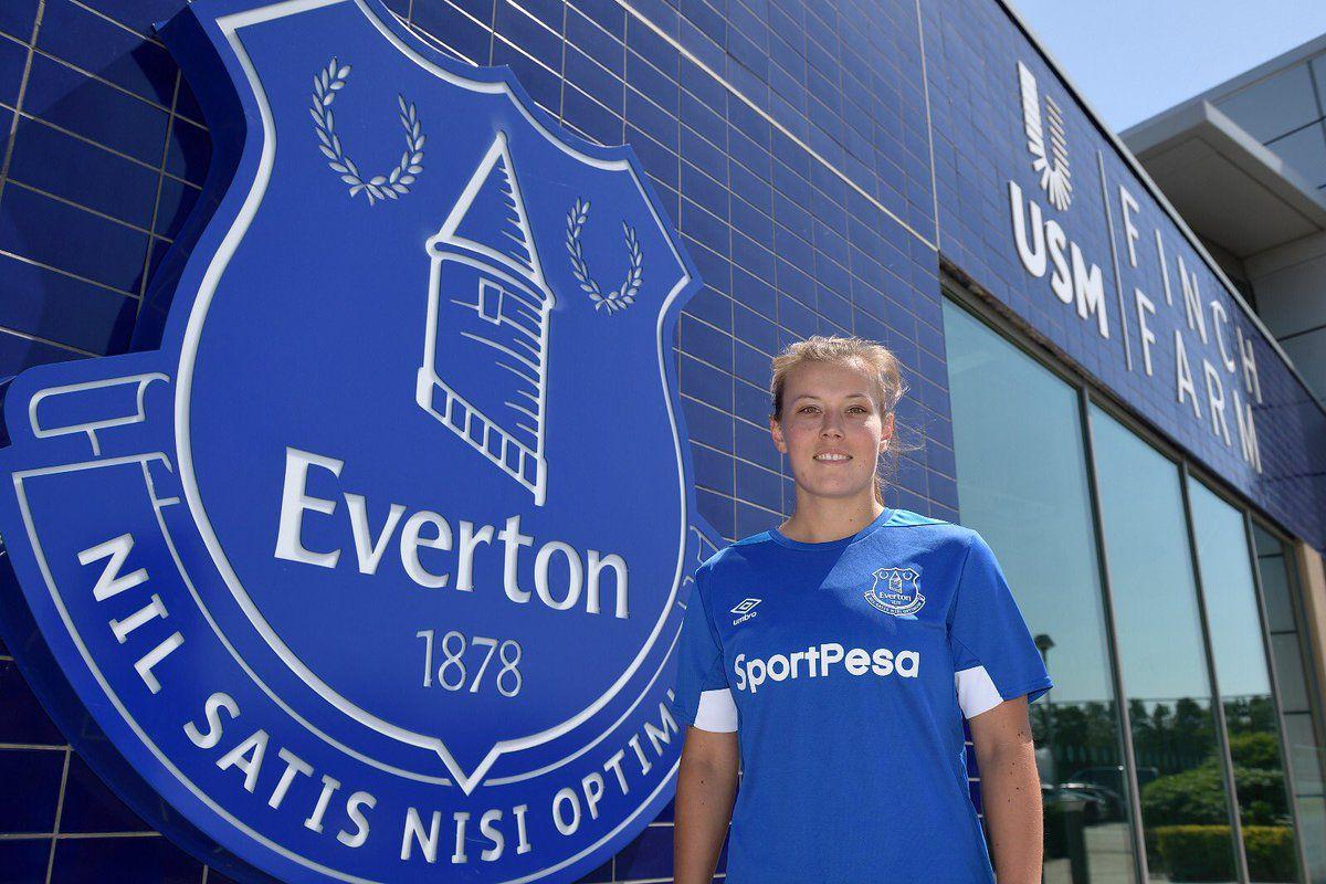 Everton Ladies Sign A New Midfielder Royal Blue Mersey