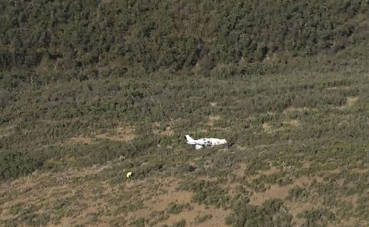 Plane crash kills 2 men in mountains of eastern Utah