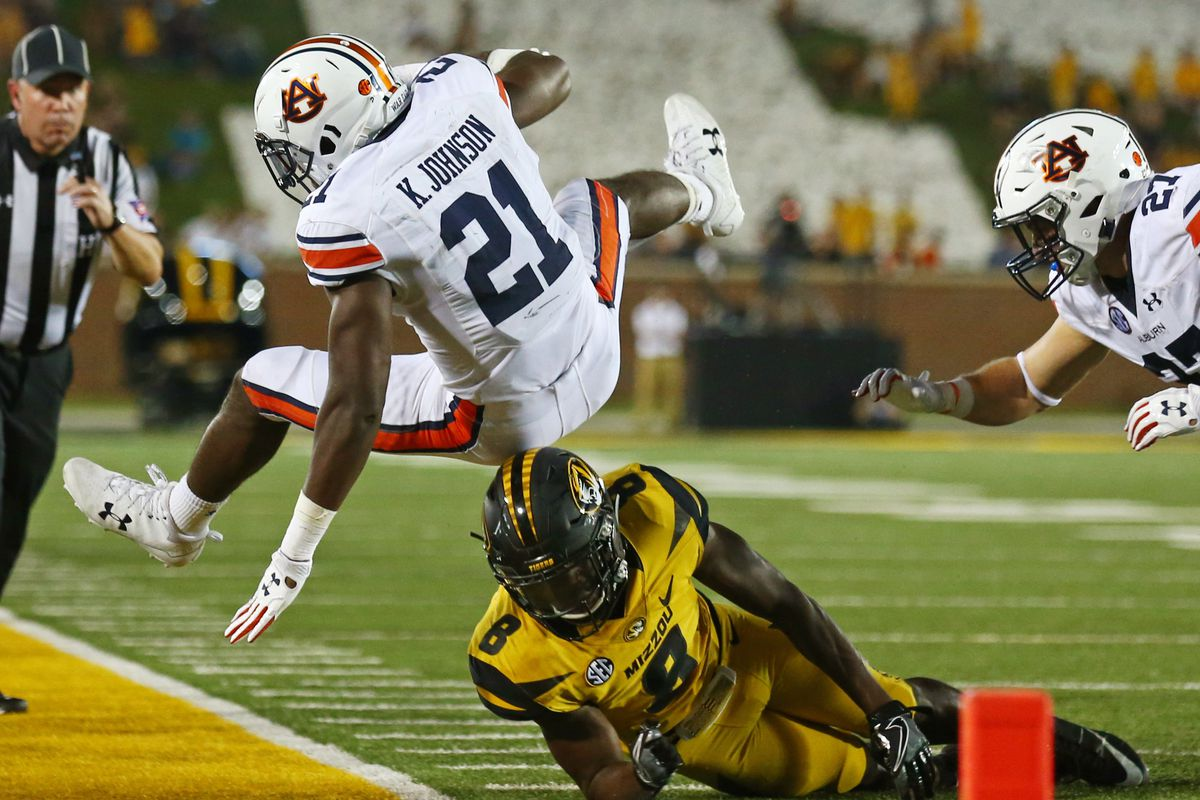 NCAA Football: Auburn at Missouri