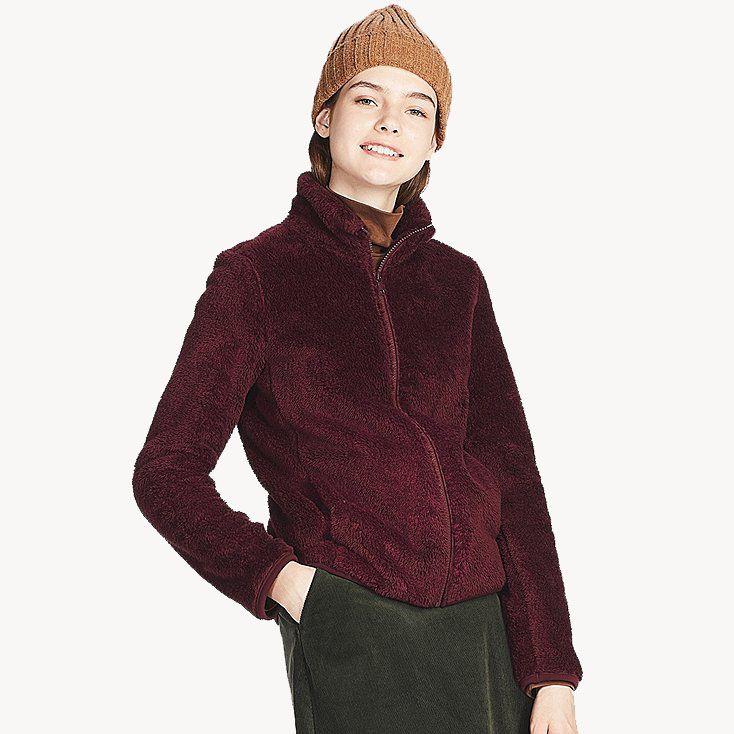 Uniqlo Fluffy Yarn Fleece Full-Zip Jacket