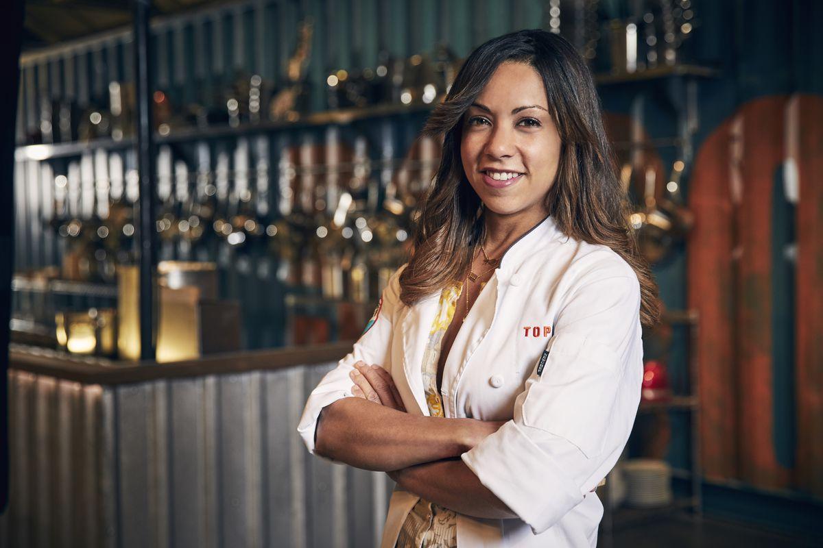 "Season 15 ""Top Chef"" finalist Adrienne Cheatham grew up in Hyde Park.   Tommy Garcia/Bravo"