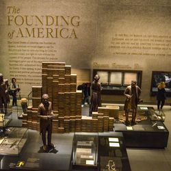 Inside the National Museum of African American History and Culture in Washington, D.C.