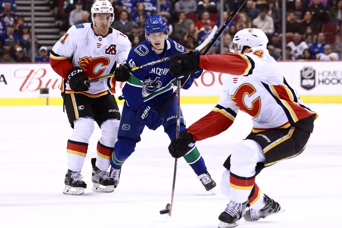 online retailer e4c71 4f4a2 GAME DAY PREVIEW: Canucks vs Calgary - Nucks Misconduct